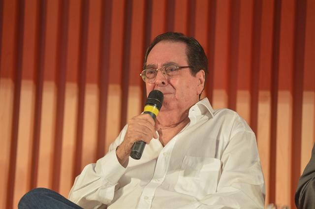 O autor Benedito Ruy Barbosa / Crédito: João Miguel Jr./Divulgação